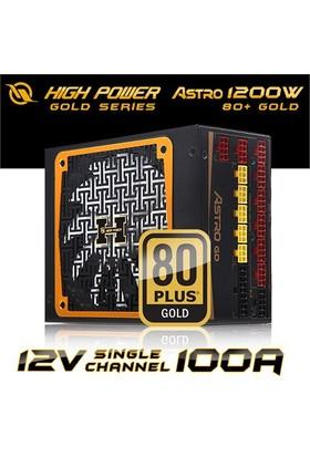 High Power ASTRO GD Serisi 1200W 80+ Gold Tam Modüler Power Supply (HPJ-1200GD-F14C)