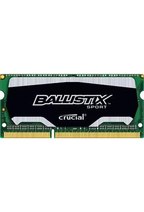 Crucial Ballistix Sport 8GB 1600MHz DDR3 Notebook Ram (BLS8G3N169ES4CEU)
