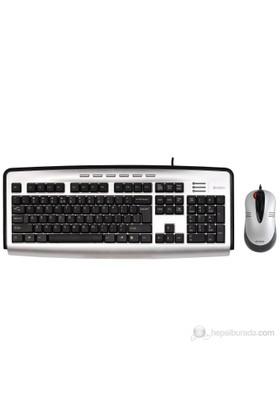 A4 Tech KL-2350D Kit Q-Türkçe PS/2 X-Slim Klavye + Optik Mouse