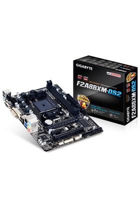 Gigabyte GA-F2A88XM-DS2 AMD A88X DDR3 2400MHz(OC) Soket FM2+ mATX Anakart