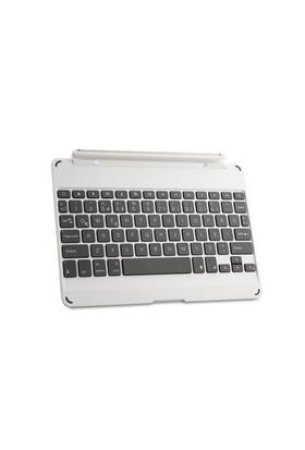 Everest Kb-Bt12 Gümüş Bluetooth İpad Air Işıklı Delux Multimedia Kablosuz Stand/Klavye