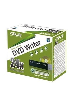 Asus DRW-24B5ST SATA Siyah Kutulu DVD-RW