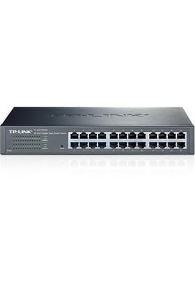 TP-LINK TL-SG1024DE 24-Port 10/100/1000Mbps %40 Enerji Tasarruflu Ağ Görüntüleme/Önceliklendirme/VLAN Akıllı Gigabit Switch