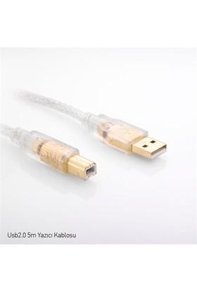 S-Link SLX-329 USB 2,0 Yazıcı Kablosu 5M