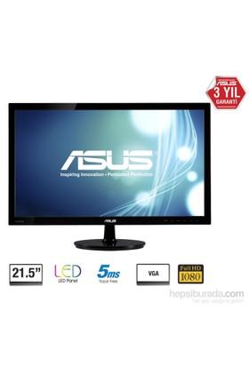 "Asus VS228DE 21.5"" 5ms (Analog) Full HD LED Monitör"