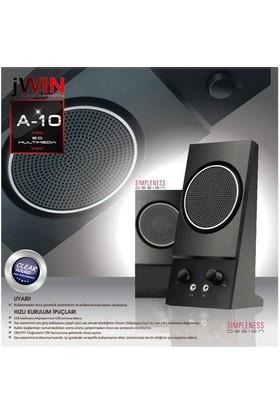 Jwın A-10 2.0 Speaker