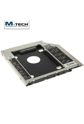 M-Tech MSSC0095 Notebook için Ekstra 9.5mm Slim SATA Caddy HDD Yuvası