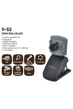 Goldmaster V-52 Webcam