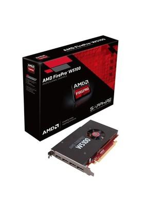 AMD FirePro W5100 4GB 128Bit GDDR5 (DX11.2) PCI-E 3.0 Profesyonel Ekran Kartı (SPAMDFPROW5100)