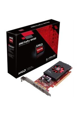 AMD FirePro W4100 2GB 128Bit GDDR5 (DX11.1) PCI-E 3.0 Profesyonel Ekran Kartı (SPAMDFPROW4100)