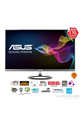 "Asus MX27AQ 27"" 5ms (2xHDMI/MHL+Display) QHD IPS Led Monitör"