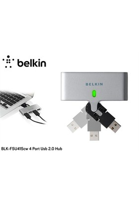 Belkin Blk-F5u415cw 4 Port Usb 2.0 Hub