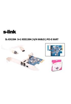 S-Link Sl-Ex1394 Pcı Express 1394 3+1 Kart