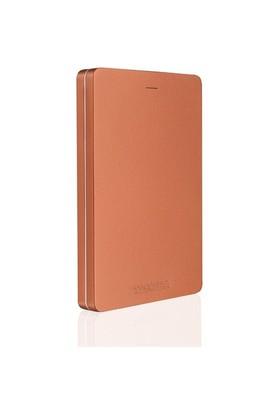 """Toshiba Canvio Alu 1TB 2.5"""" Metalik Kırmızı Taşınabilir Disk HDTH310ER3AA"""