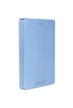 "Toshiba Canvio Alu 2TB 2.5"" Metalik Mavi Taşınabilir Disk HDTH320EL3CA"