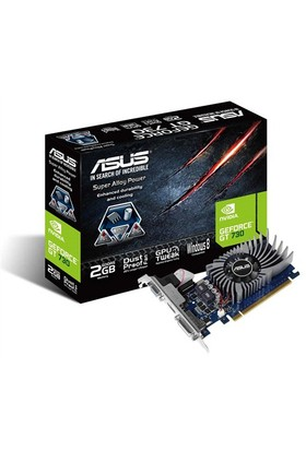 Asus Nvidia GeForce GT 730 2GB 64Bit GDDR5 (DX11) PCI-E 2.0 Ekran Kartı (GT730-2GD5-BRK)