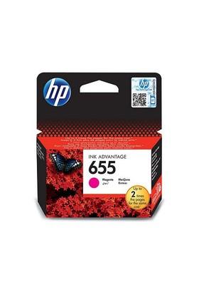 HP 655 Kırmızı Mürekkep Kartuşu (CZ111AE)