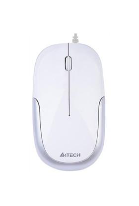 A4 Tech D-110-2 Beyaz Gümüş Usb Kablolu