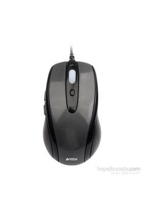 A4 Tech N-708X Siyah Usb Gri V-Track Mouse