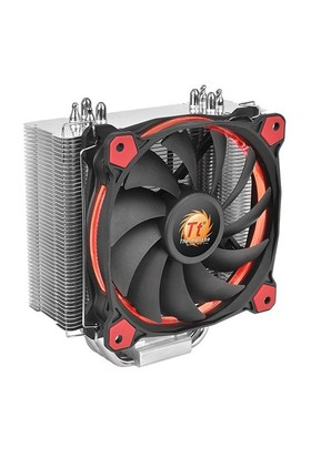 Thermaltake Riing Silent Intel LGA2011/1366/115x/775/AMD FM2/AM2 12cm Kırmızı Fanlı CPU Soğutucu CL-