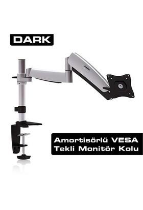 "Dark 1 Monitör Destekli Amortisörlü Masa Tipi Ergonomik VESA Mount 13""-23"" LCD Monitör ve TV Kolu (DK-AC-VM11)"