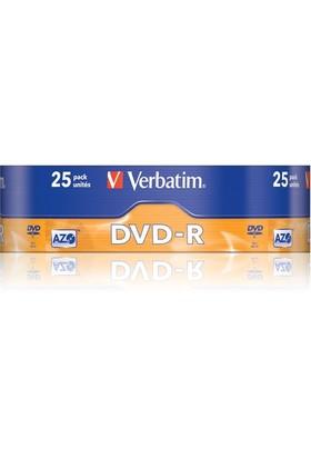 Verbatim Dvd-R Azo Matg.25'li Spindle 43808