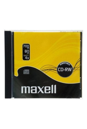 Maxell 12X 700MB Tek Kutu CD-RW (High Speed)