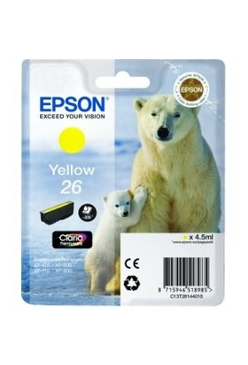 Epson T261440(26) XP600-700-800 Sarı Kartuş