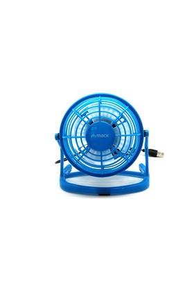 Mack MCF-10 BL Masaüstü Plastik USB Mini Fan Mavi