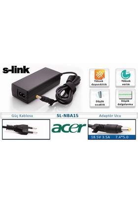 S-Link SL-NBA15 (Acer) 18.5V3.5A 7.4*5.0 Notebook Adaptör