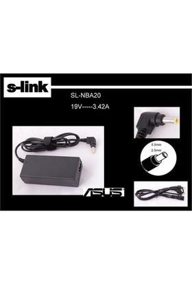 S-Link SL-NBA20 (Asus Toshiba) 19V3.42A 5.5*2.5 Notebook Adaptör