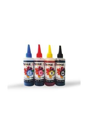 Photo Ink Epson L100/110/200/210//300/310/355/455/550/800/810/850/1300 Serisi 4X100 Ml Mürekkep Seti