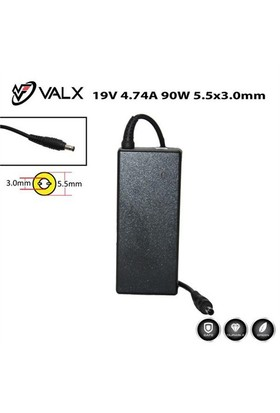 Valx La-19030 19V 4.74A 90W Notebook Adaptör