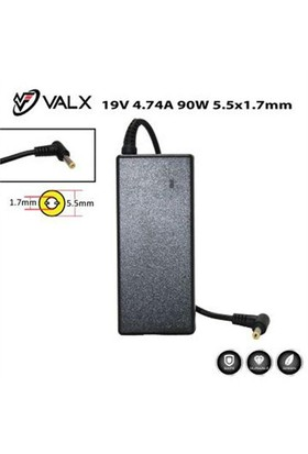 Valx La-19057 19V 4.74A 90W Notebook Adaptör