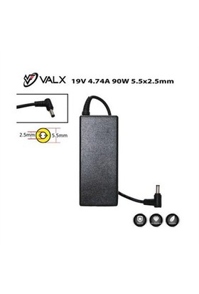 Valx La-19055 19V 4.74A 90W Notebook Adaptör
