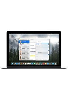 "Apple Macbook Intel M 5Y51 8GB 512GB SSD MacOS X 12"" QHD Taşınabilir Bilgisayar MF865TU/A"
