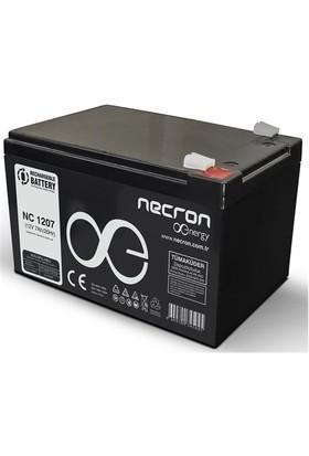 Necron 12V 9Ah Kuru Tıp Tam Bakımsız Aku (Np 1209Fr)