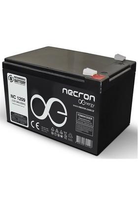 Necron 12V 9A Tam Bakımsız Akü