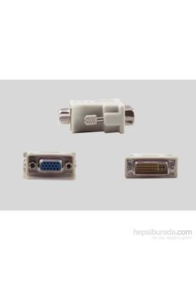 Vcom Ca301 Dvı 24+5 Ekrek To Vga Dişi Dönüştürücü