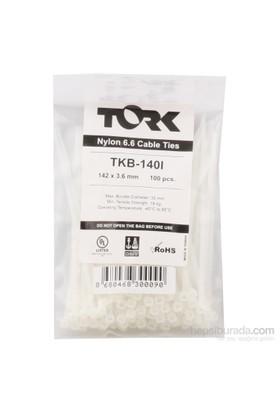 Tork Beyaz Kablo Bağı 3.6-142 100Lü Paket