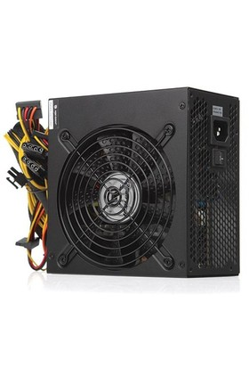 High Power 500W 80+ 37.5A Single Rail Aktif PFC Siyah ATX Güç Kaynağı (HPQ-500ST-H12S)
