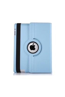 Cover Me Apple İpad Air 2 Kılıf 360 Derece Döner Standlı Turkuaz