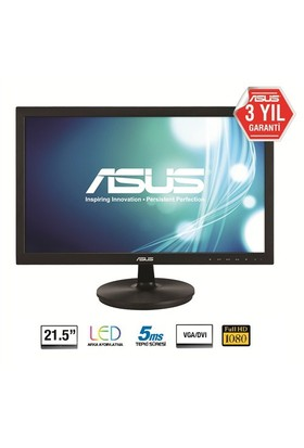 "Asus VS228NE 21.5"" 5ms (Analog+DVI) Full HD Led Monitör"