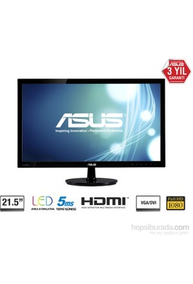 "Asus VS228HR 21.5"" 5ms (Analog+DVI+HDMI) Full HD Led Monitör"
