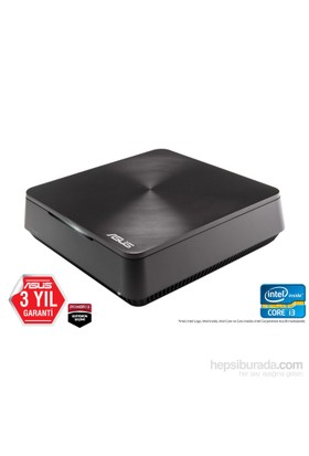 Asus VivoMini VM60-G202R Intel Core i3 3217U 1.8GHz 4GB 500GB Mini Masaüstü Bilgisayar