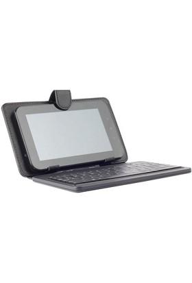 """Rexpo RTK-97 Siyah 9.7"""" Klavyeli Tablet Kılıfı"""