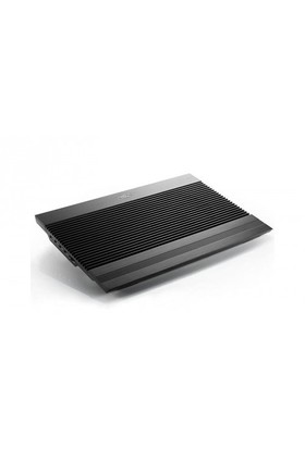 Deep Cool N8 Ultra Siyah Alüminyum 140mm Çift Fanlı Notebook Soğutucusu