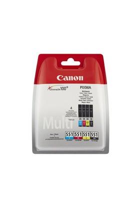 Canon CLI-551 4'lü Set Mürekkep Kartuş