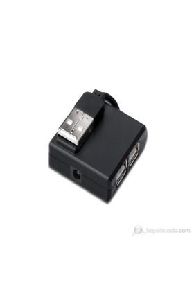 Digitus DA-70217 4Port Siyah USB 2.0 Hub