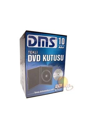 DMS Siyah Tekli DVD Kutusu 10' lu Paket (13DMS237PS)